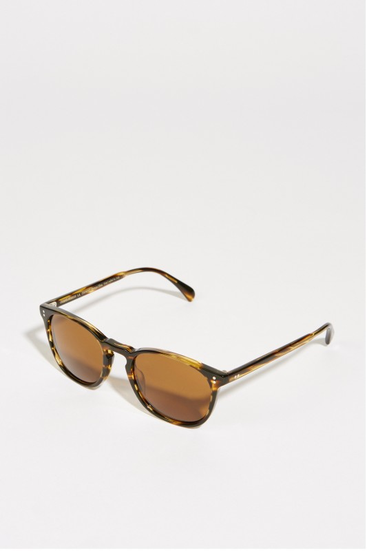 Oliver Peoples Sonnenbrille 'Finley' Braun