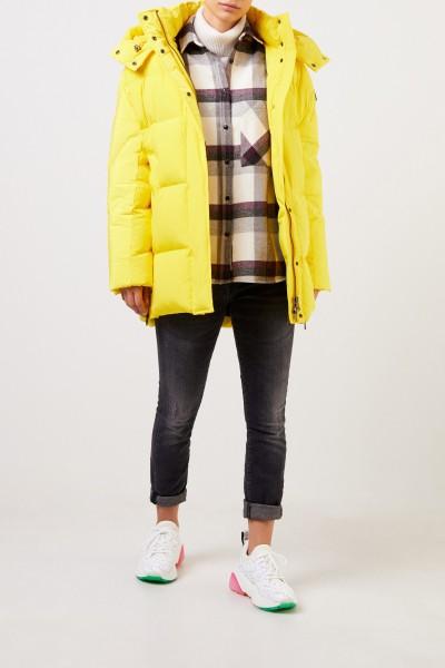 Woolrich Daunenjacke 'Aurora' mit Kapuze Gelb