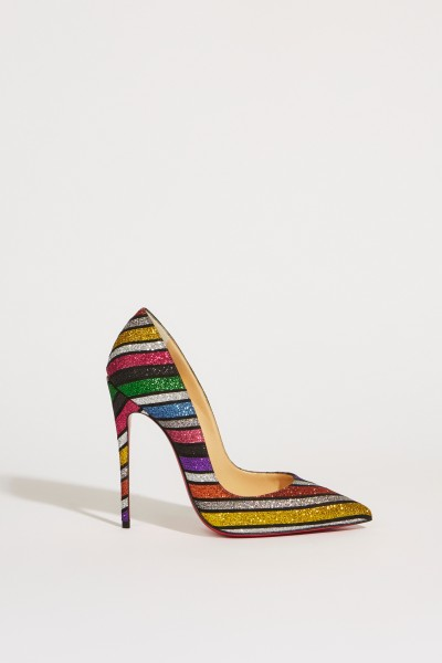 Patent leather pump 'So Kate 120' Multi