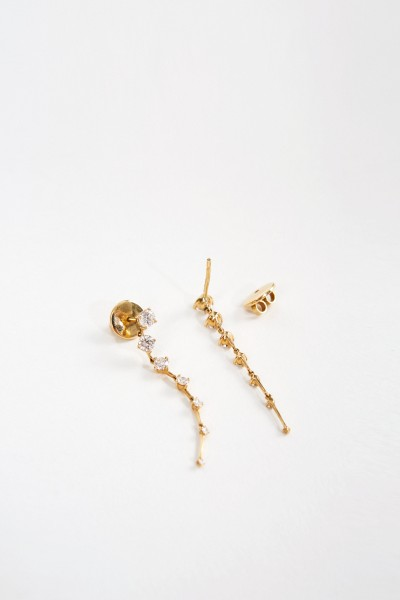 Fernando Jorge Earrings 'Sequemce Medium' Yellow Gold
