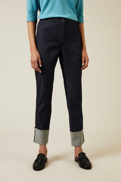 Stretch-Jeans in Dunkelblau