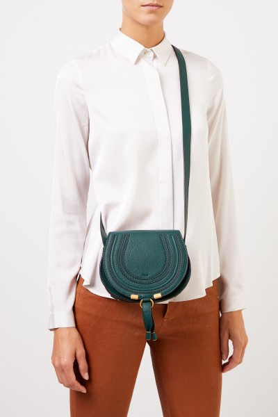 Chloé Umhängetasche 'Marcie Saddle Small' Rain Forest