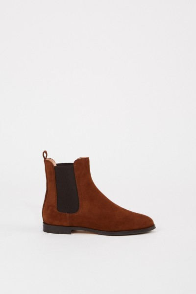 Unützer Leather suede Chelsea boot Brown