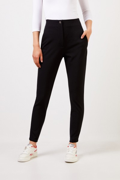 Etro Pants with lacing detail Black