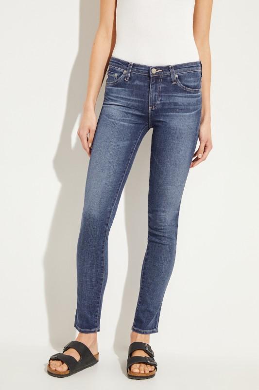 AG Jeans Skinny Jeans 'The Prima' Blau