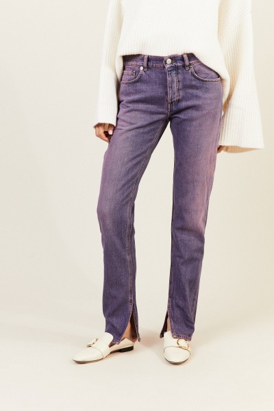 Jeans 'Slit Pants' Violett