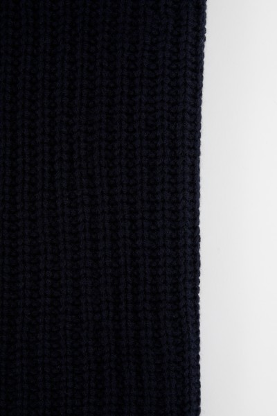 Iris von Arnim Cashmere-Schal 'Havard' Marineblau