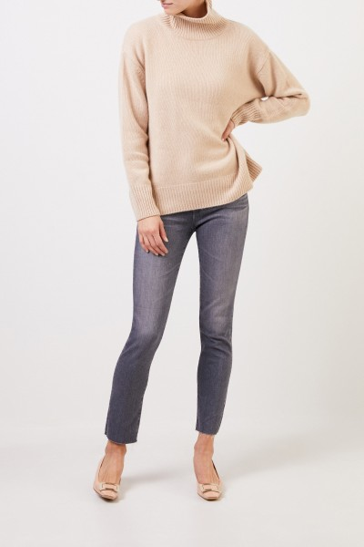 AG Jeans Jeans 'The Prima Ankle' with open hems Grey