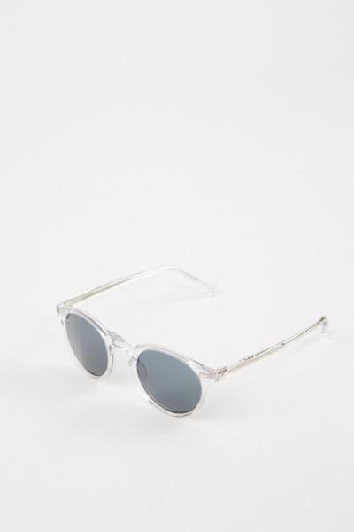 Oliver Peoples Sonnenbrille 'Gregory Peck' Transparent/Blau