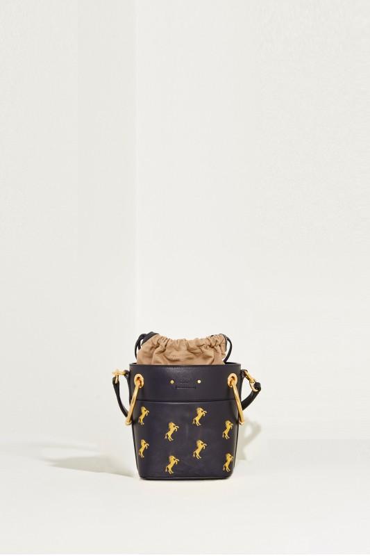 Shopper 'Roy Bucket Mini' Full Blue