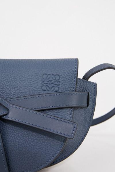 Loewe Shoulder bag 'Mini Gate' Steel Blue