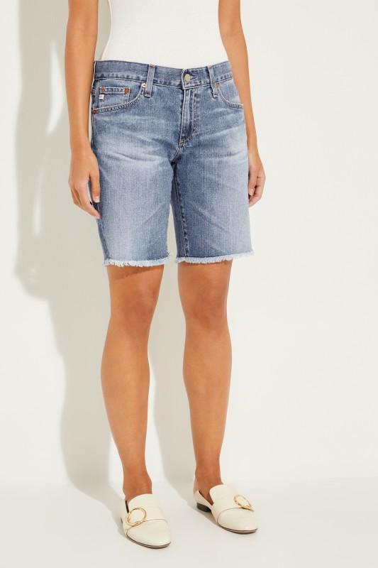 Jeans-Bermudas 'Nikki' Blau