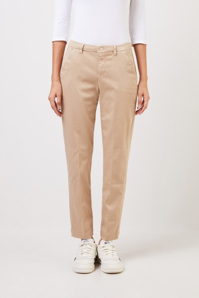 7 for all mankind Klassische Chino-Hose Beige