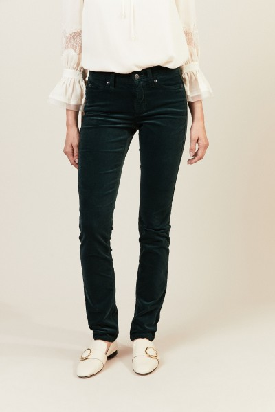 Skinny-Jeans 'Parla' Grün