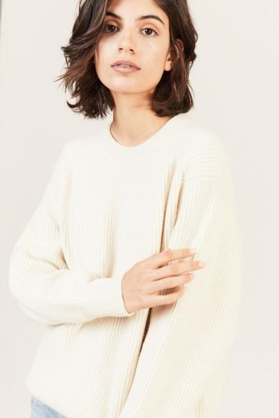 Oversize Cashmere-Pullover 'Eyanley' Créme