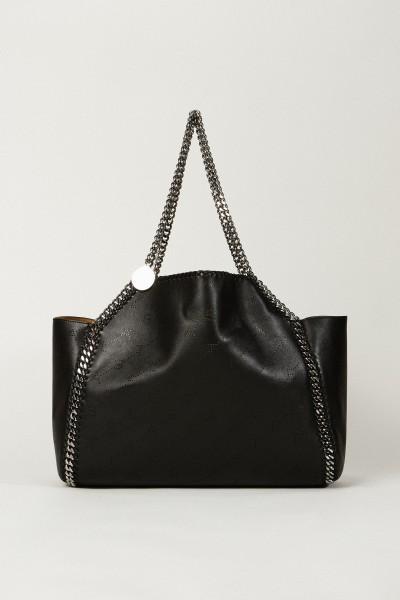 Wende-Shopper mit Stella-Logo 'Tote Bag' Schwarz/Senf