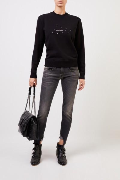 R13 Skinny jeans 'Boy Skinny' Anthracite