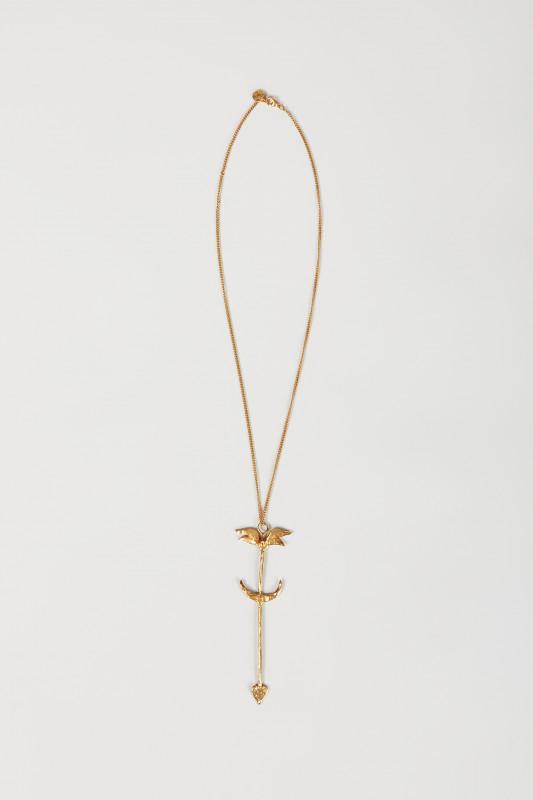 Halskette mit Pfeilmotiv Gold