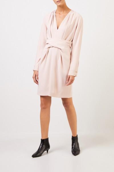 Stella McCartney Kleid 'Cady' mit Bindedetail Rosé