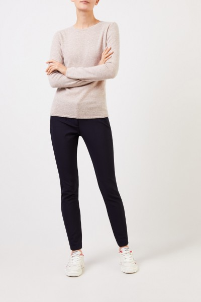 Veronica Beard Legging 'Scuba' Marineblau