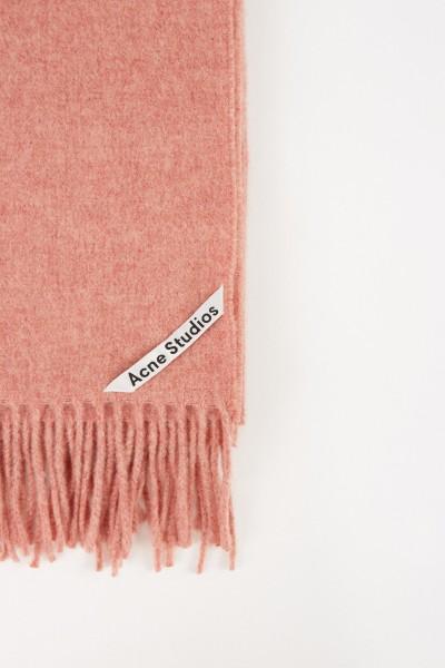 Acne Studios Klassischer Wollschal 'Canada New' Rosé Melange