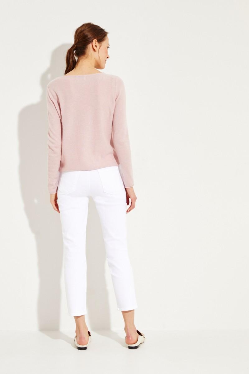 Jeans 'Ruby' Weiß