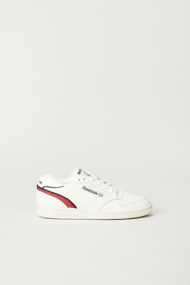 Sneaker 'ACT300' Créme/Rot