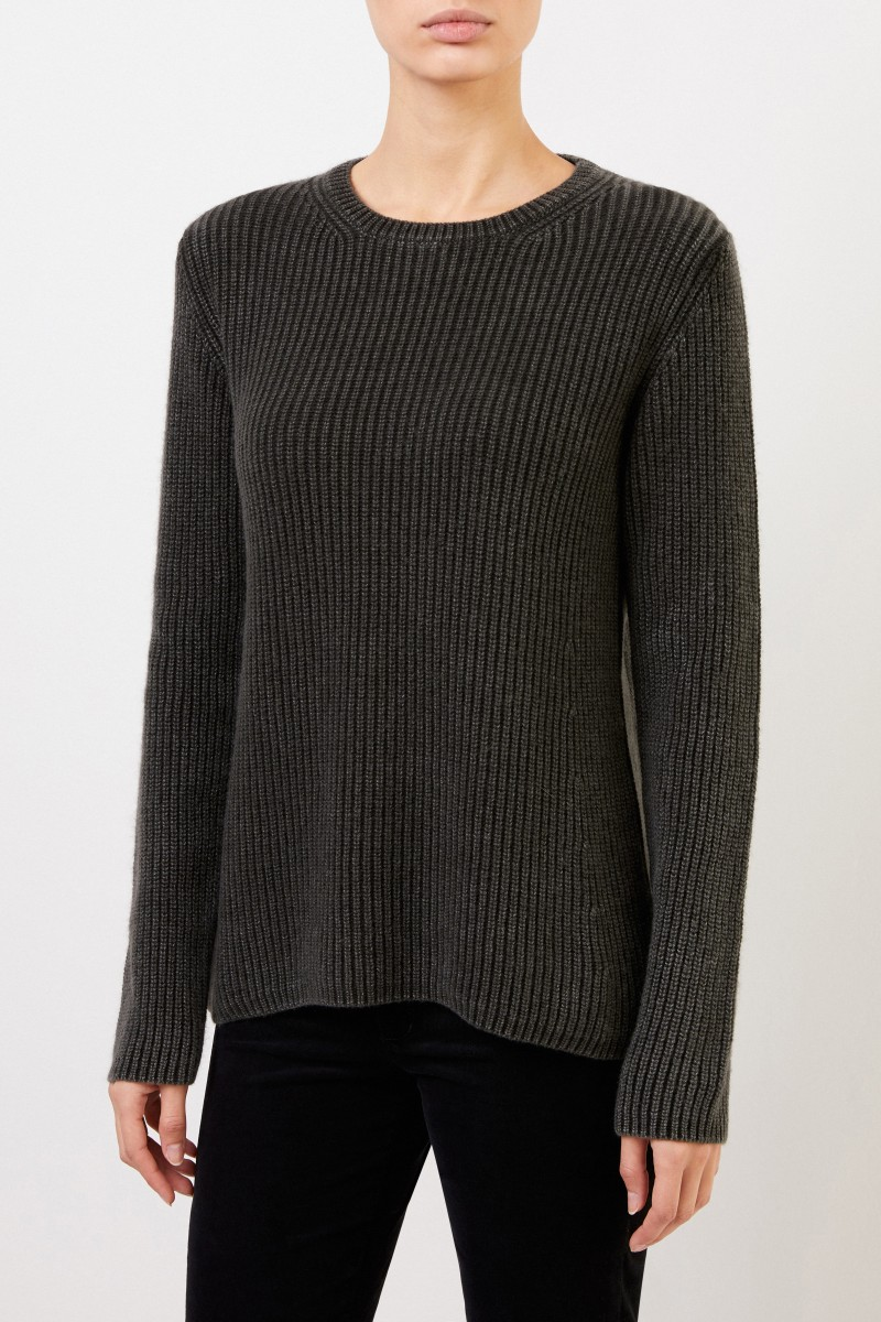 Iris von Arnim Cashmere-Pullover 'Sessanio' Grün
