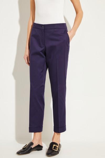 Classic cotton pants Dark Blue