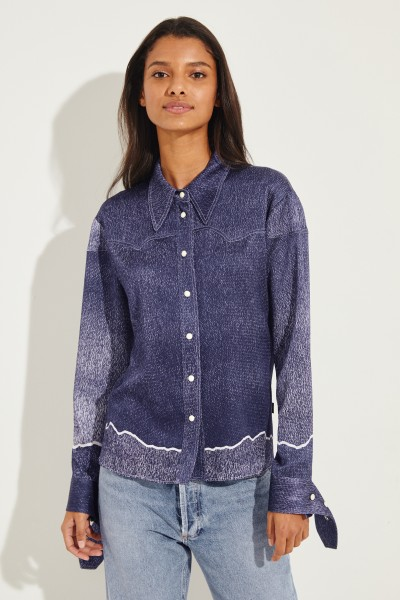 Chloé Blouse with cuffs Blue