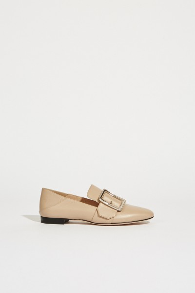 Leatherloafer 'Janelle' Blush