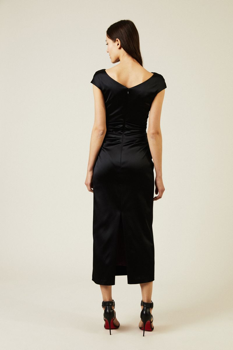 Abendkleid 'Roya1' Schwarz