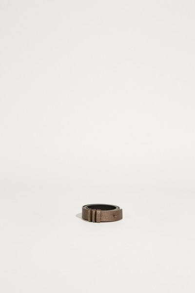Leder-Gürtel Bronze