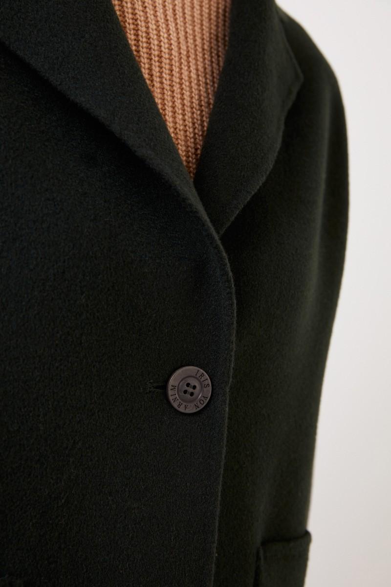 Cashmere Doubleface-Jacke 'Bakana' Grün