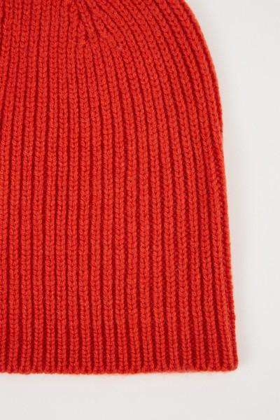 Uzwei Wool cashmere hat Orange