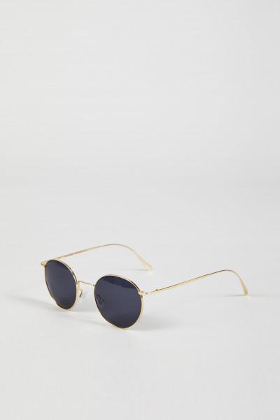 Runde Sonnenbrille 'The Spirited' Gold/Blau