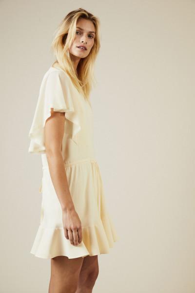 Kurzes Kleid mit Bindedetail Pearl