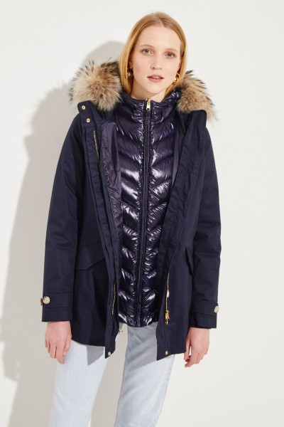 Down parka 'W'S 3 in 1 Arctic Parka' Navy Blue