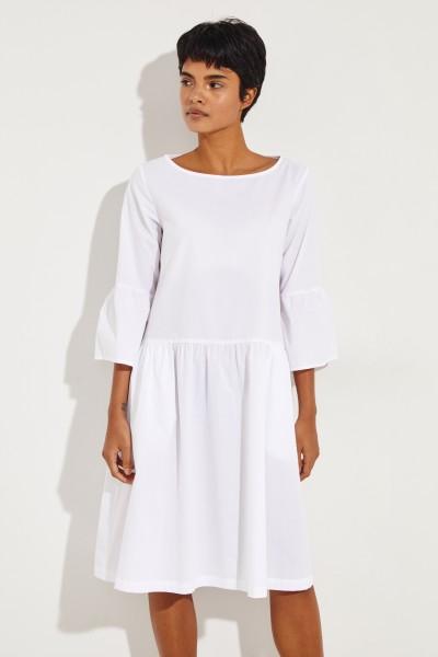 Baumwoll-Kleid 'Rittana' Weiß