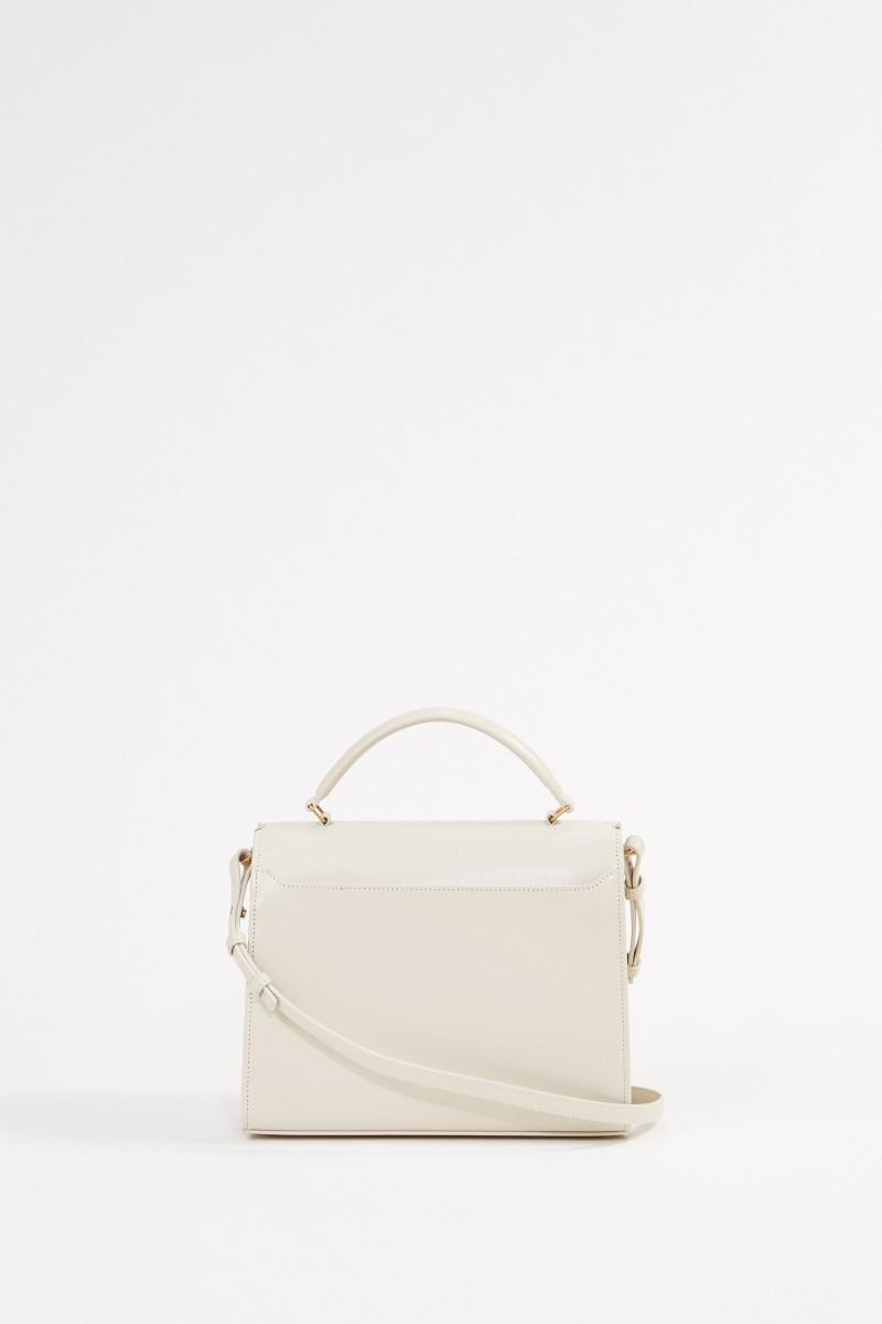 Saint Laurent Leather bag 'Nolita S' Créme Soft
