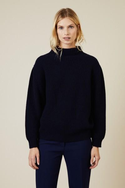 Cashmere Pullover Marineblau