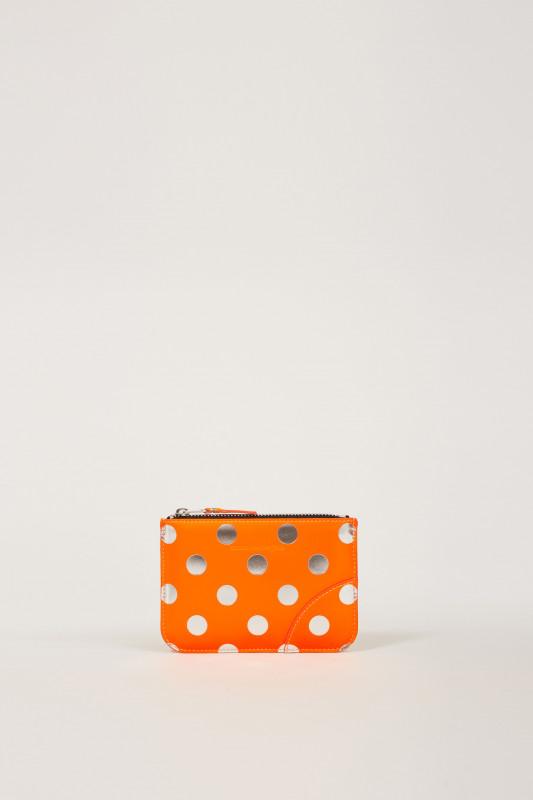 Kleines Portemonnaie Dot/Orange