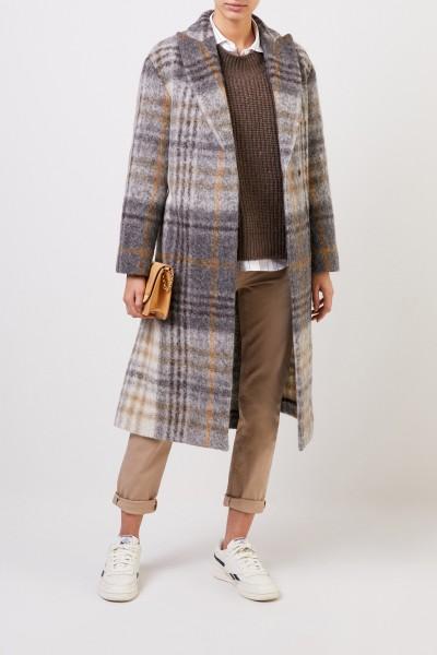 Glencheck Wool Coat Multi