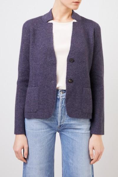 Iris von Arnim Doubleface cashmere blazer 'Pacita' Blue