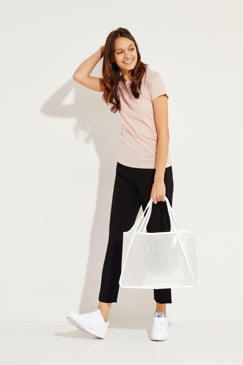 Baumwoll-Shirt Rosé