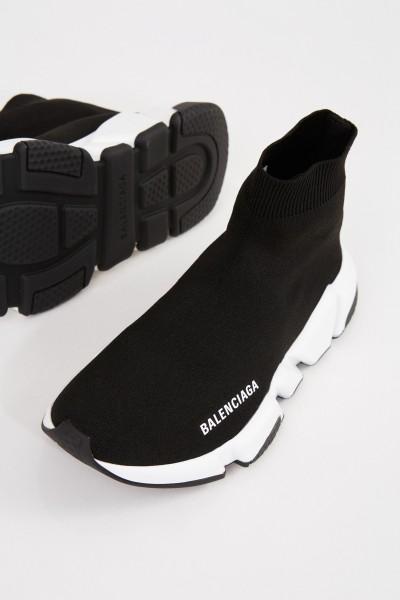 Balenciaga Sneaker 'Speed' mit Logo Schwarz/Weiß