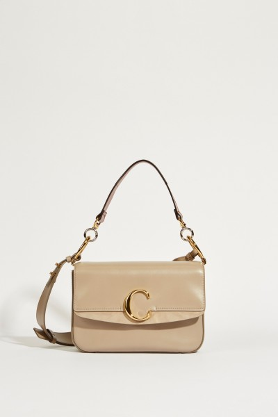 Tasche 'Chloé C Medium' Motty Grey