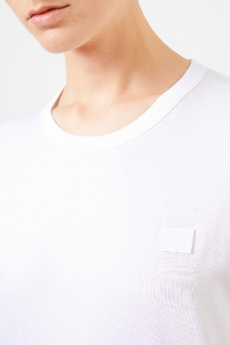 Acne Studios T-Shirt 'Nash Face' Weiß