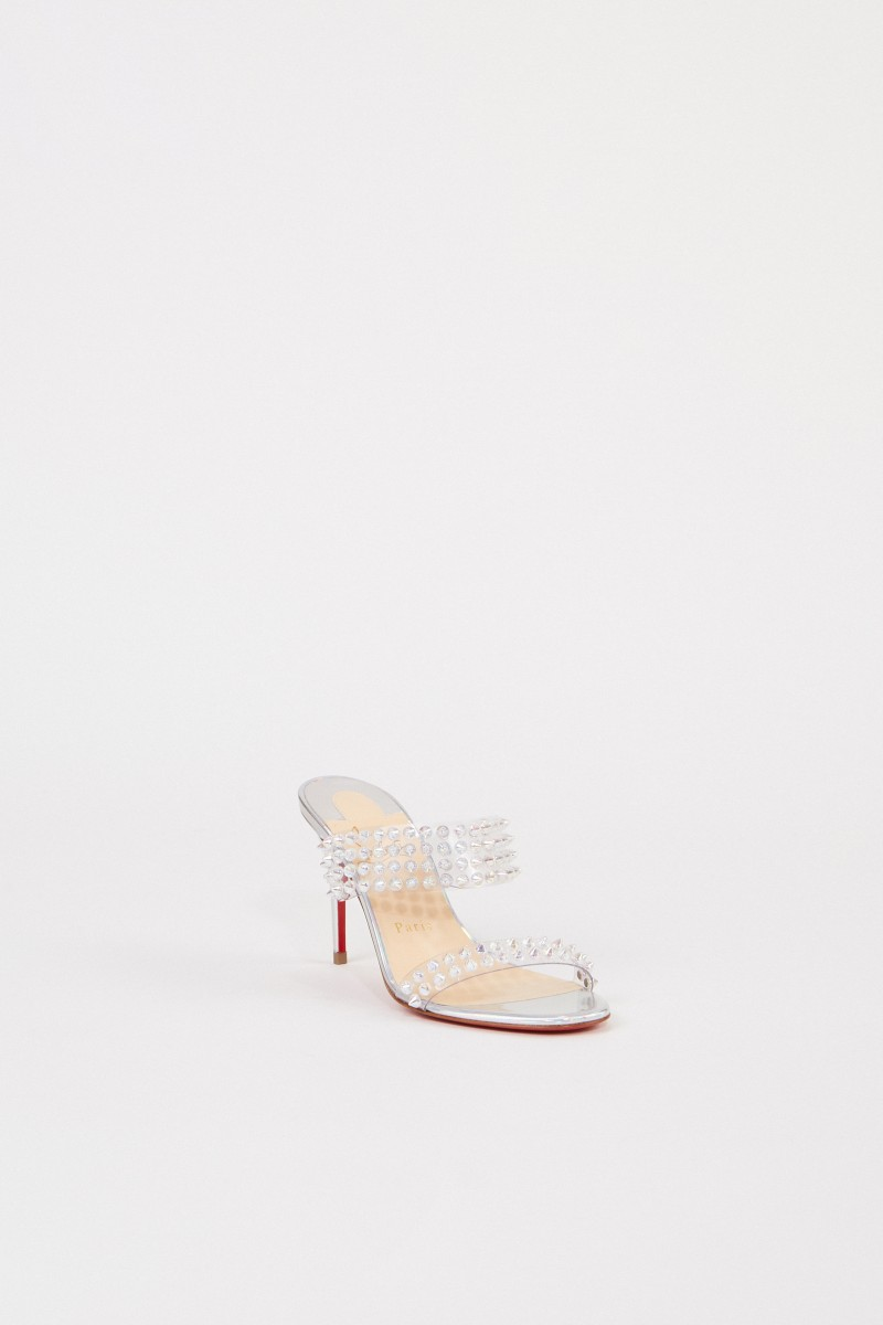 Mules 'Spikes Only 85' Transparent