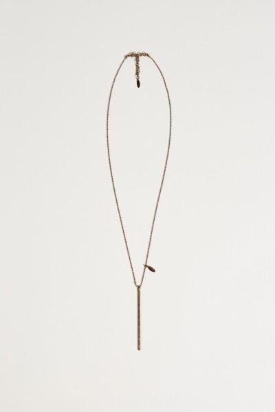 Halskette mit einem Anhänger Bronze